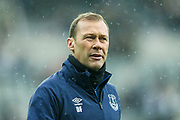 Everton coach Duncan Ferguson during the Premier League match between Newcastle United and Everton at St. James's Park, Newcastle, England on 9 March 2019.