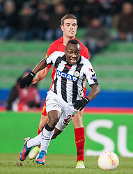 06.12.2012, Stadio Friuli, Udine, ITA, UEFA EL, Udinese Calcio vs FC Liverpool, Gruppe A, im Bild Jordan Henderson (# 14, Liverpool FC), Pablo Armero (# 27, Udinese Calcio) // during the UEFA Europa League group A match between Udinese Calcio and Liverpool FC at the Stadio Friuli, Udinese, Italy on 2012/12/06. EXPA Pictures © 2012, PhotoCredit: EXPA/ Juergen Feichter