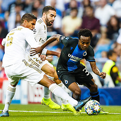 01,10,2019 Real Madrid v Club Bruges - Champions League