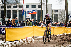 Manon Bakker, NK Veldrijden / Dutch Championship Cyclocross at Sint Michielsgestel, Noord-Brabant, The Netherlands, 8 January 2017. Photo by Pim Nijland / PelotonPhotos.com | All photos usage must carry mandatory copyright credit (Peloton Photos | Pim Nijland)