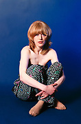Marianne Faithfull 1978 London Studio Photosession