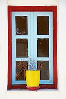 Grèce, Mer Egée, Cyclades, ile de Amorgos, Hora, Chora village // Greece, Cyclades Islands, Greek Islands, Aegean Sea, Amorgos, Hora, Chora city