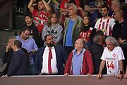 Evangelos Marinakis presidente Olympiakos Calcio<br /> Fenerbahce Istanbul - Olympiakos Piraeus<br /> Euroleague Final Four 2017<br /> Finale 1 - 2 Posto<br /> Euroleague 2016/2017<br /> Istanbul, 21/05/2017<br /> Foto M.Ceretti / Ciamillo - Castoria