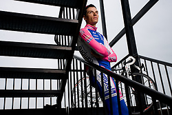 Slovenian rider Simon Spilak of Lampre-Farnese Vini Team  at fotosession, on April 22, 2010, in Novo mesto, Slovenia.  (Photo by Vid Ponikvar / Sportida)