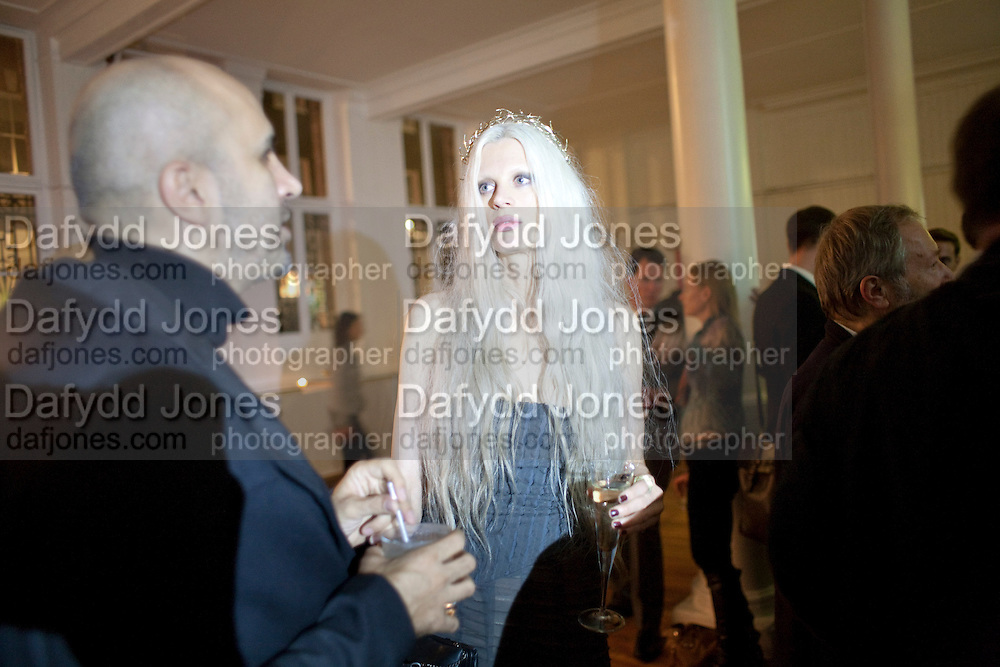 KIRSTEN MCENEMY, 30 Years Of i-D - book launch. Q Book 5-8 Lower John Street, London . 4 November 2010. -DO NOT ARCHIVE-© Copyright Photograph by Dafydd Jones. 248 Clapham Rd. London SW9 0PZ. Tel 0207 820 0771. www.dafjones.com.