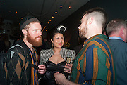 BISHI, Damon Albarn Dr Dee party  after the opening night at London Coliseum. Party at the St. Martin's Lane Hotel. 25 June 2012.