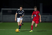 17/10/2017 - Dundee v Falkirk in the SPFL Development League at Links Park, Montrose; Dundee's Jesse Curran