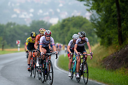 Hannah Barnes (CANYON//SRAM Racing) on the climb out of Kahla at Thüringen Rundfarht 2016 - Stage 7 a 131 km road race starting and finishing in Gera, Germany on 21st July 2016.
