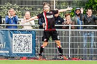 DEN HAAG - HBS - MSC , Sportpark Craeyenhout , Voetbal , Promotie/degradatie topklasse , seizoen 2014/2105 , 28-05-2015 , HBS speler Jasper Roberti