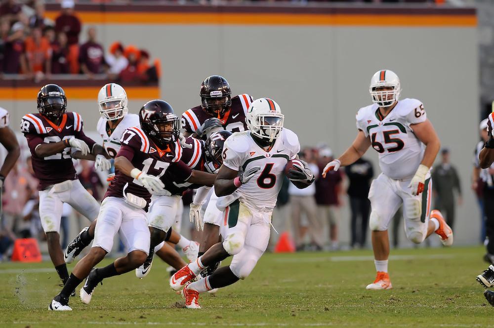 2011 Miami Hurricanes Football @ Virginia Tech