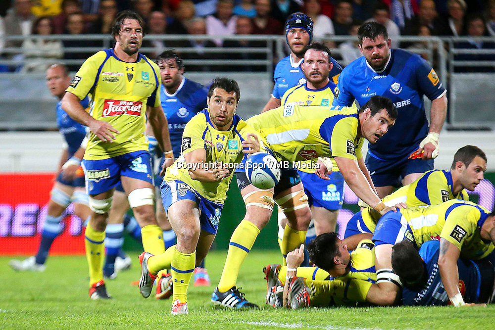 Ludovic Radosavljevic - 25.04.2015 - Castres / Clermont - 23eme journee de Top 14<br />