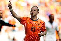 Fotball<br /> Nederland v Ungarn<br /> Foto: Proshots/Digitalsport<br /> NORWAY ONLY<br /> <br /> oefeninterland 05-06-2010 nederland - hongarije 6-1 ook wesley sneijder scoorde