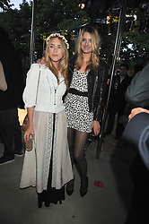 Left to right, MARY CHARTERIS and LILY DONALDSON at the annual Serpentine Gallery Summer Party sponsored by Canvas TV  the new global arts TV network, held at the Serpentine Gallery, Kensington Gardens, London on 9th July 2009.