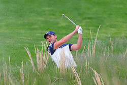 May 19, 2019 - Farmingdale, NY, U.S. - FARMINGDALE, NY - MAY 19:  Danny Willett of England on the 18th hole during the final round of the 2019 PGA Championship at the Bethpage Black course with a score of 8 under par on May 19, 2019 in Farmingdale, New York.(Photo by Rich Graessle/Icon Sportswire) (Credit Image: © Rich Graessle/Icon SMI via ZUMA Press)