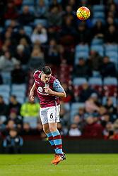 Ciaran Clark of Aston Villa in action - Mandatory byline: Rogan Thomson/JMP - 01/03/2016 - FOOTBALL - Villa Park Stadium - Birmingham, England - Aston Villa v Everton - Barclays Premier League.