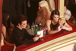 61147042<br /> Kim Kardashian and her mother Kris Jenner attend the traditional Vienna Opera Ball (Wiener Opernball), Vienna State Opera, Vienna, Austria, Thursday, 27th February 2014. Picture by  imago / i-Images<br /> UK ONLY
