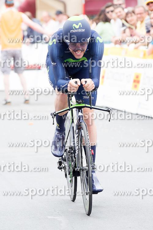 Radsport: 36. Bayern Rundfahrt 2015 / 4. Etappe, Zeitfahren, Hassfurt, 16.05.2015<br /> Cycling: 36th Tour of Bavaria 2015 / Stage 4, <br /> time trial, Hassfurt, 16.05.2015<br /> # 32 Dowsett, Alex (GBR, MOVISTAR TEAM)