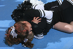 Jaguars, Jupiter, Finland (2nd place in category Cheer mix - junior) during final ceremony at second day of European Cheerleading Championship 2008, on July 6, 2008, in Arena Tivoli, Ljubljana, Slovenia. (Photo by Vid Ponikvar / Sportal Images).