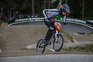 #135 (DONZALLAZ Eloise) SUI during round 3 of the 2017 UCI BMX  Supercross World Cup in Zolder, Belgium,