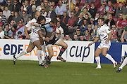 EDF Energy Cup,  Quins, Mike BROWN, during the NEC Harlequins vs Sale Sharks match at the Stoop Stadium, Twickenham. 07/10/2006 . [Photo, Peter Spurrier/Intersport-images]..
