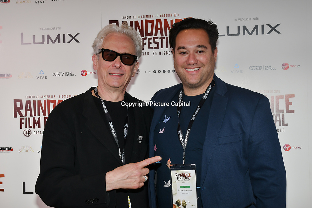 Elliot Grove and Richard Raymond attend 'Souls of Totality' film at Raindance Film Festival 2018, London, UK. 30 September 2018.
