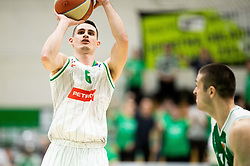 Jan Span of Petrol Olimpija during basketball match between KK Krka and KK Petrol Olimpija in 22nd Round of ABA League 2018/19, on March 17, 2019, in Arena Leon Stukelj, Novo mesto, Slovenia. Photo by Vid Ponikvar / Sportida