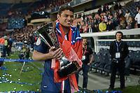 Thiago Silva  - 23.05.2015 - PSG / Reims - 38eme journee de Ligue 1<br />Photo : Andre Ferreira / Icon Sport