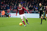 Northampton Town Striker Ricky Holmes  during the Sky Bet League 2 match between Northampton Town and York City at Sixfields Stadium, Northampton, England on 6 February 2016. Photo by Dennis Goodwin.