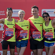 Photocall at London Marathon 2018