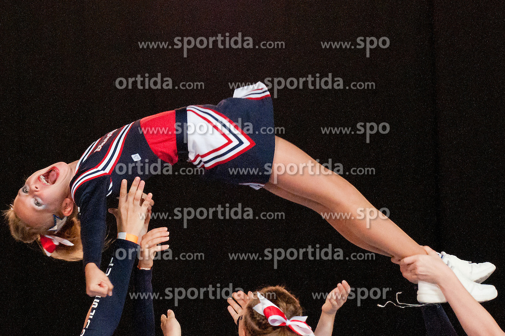 Steelsharks Diamonds, Austria at European Cheerleading Championship 2011, on July 2, 2011, in SRC Stozice, Ljubljana, Slovenia (Photo by Matic Klansek Velej / Sportida)