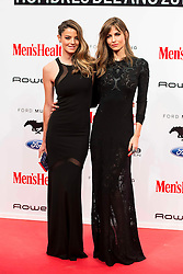 28.01.2016, Goya Theatre, Madrid, ESP, Men'sHealth Awards, im Bild Aida Artiles and Ariadne Artiles attends // to the delivery of the Men'sHealth awards at Goya Theatre in Madrid, Spain on 2016/01/28. EXPA Pictures © 2016, PhotoCredit: EXPA/ Alterphotos/ BorjaB.hojas<br /> <br /> *****ATTENTION - OUT of ESP, SUI*****