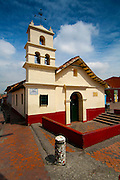 The Ermita del Humiladero Chapel in Bogota's oldest part of the city, Plaza del Chorro de Quevedo (where Bogota was found).