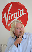 Sir Richard Branson day out in Auckland