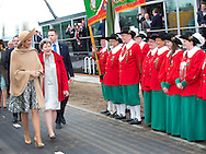Den Bosch, 05-03-2015<br /> <br /> <br /> Queen Maxima opened the Maxima Channel.<br /> <br /> <br /> Photo: Bernard Ruebsamen/Royalportraits Europe