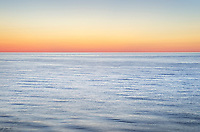 Twilight colors over Lake Superior. Pictured Rocks National Lakeshore Michigan