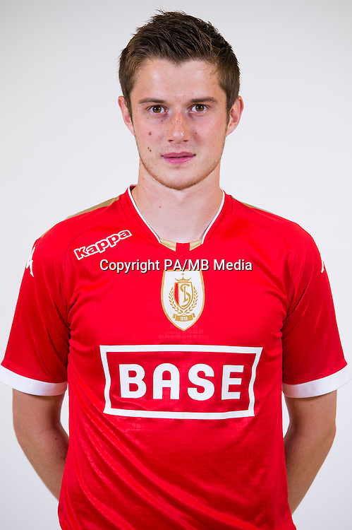 Standard's Corentin Fiore pictured during the 2015-2016 season photo shoot of Belgian first league soccer team Standard de Liege, Monday 13 July 2015 in Liege.