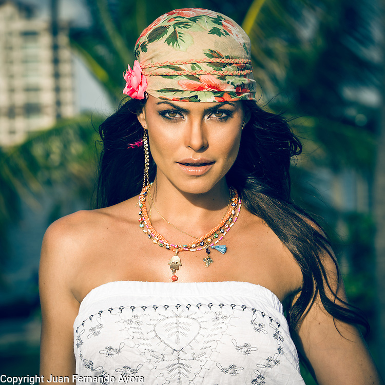 Fernanda Mello, Miami Beach<br /> Photography by: Juan Fernando Ayora
