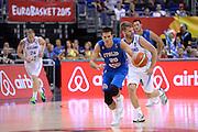 DESCRIZIONE : Berlino Eurobasket 2015 Islanda Italia<br /> GIOCATORE : Andrea Cinciarini<br /> CATEGORIA : palleggio contropiede<br /> SQUADRA : Italia<br /> EVENTO : Eurobasket 2015<br /> GARA : Islanda Italia<br /> DATA : 06/09/2015<br /> SPORT : Pallacanestro<br /> AUTORE : Agenzia Ciamillo&shy;Castoria/M.Longo<br /> Galleria : Eurobasket 2015<br /> Fotonotizia : Berlino Eurobasket 2015 Islanda Italia