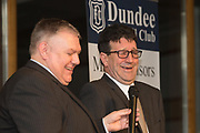 09/02/2017 - Cammy Fraser laughs while being interviewed during Dundee FC Hall of fame dinner at the Invercarse Hotel, Dundee  Picture by David Young -