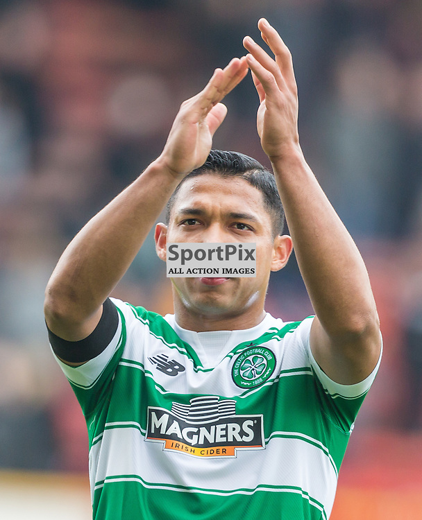 Emilio Izzaguirre after the Scottish Premiership match between Motherwell and Celtic (c) ROSS EAGLESHAM | Sportpix.co.uk