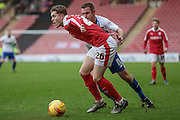 Alfie Mawson (Barnsley) during the Sky Bet League 1 match between Barnsley and Bury at Oakwell, Barnsley, England on 7 February 2016. Photo by Mark Doherty.