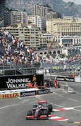MONTE-CARLO, MONACO - Thursday, May 21, 2009: Heikki Kovalainen (FIN, Vodafone McLaren Mercedes) during practice for the Monaco Formula One Grand Prix at the Monte-Carlo Circuit. (Pic by Juergen Tap/Hoch Zwei/Propaganda)