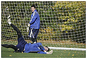 Joe Lewis. Peterborough United FC Goal Keeper..Muscle & Fitness Interview..9-11-2010...
