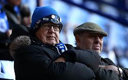 A disgruntled looking Everton fan - Mandatory by-line: Robbie Stephenson/JMP - 29/10/2017 - FOOTBALL - King Power Stadium - Leicester, England - Leicester City v Everton - Premier League