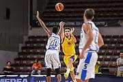 """DESCRIZIONE : Torneo Città di Sassari """"Mimì Anselmi"""" Dinamo Banco di Sardegna Sassari - AEK Atene<br /> GIOCATORE : Dimitrios Katsivelis<br /> CATEGORIA : Tiro Tre Punti Three Point Buzzer Beater Ultimo Tiro<br /> SQUADRA : AEK Atene<br /> EVENTO :  Torneo Città di Sassari """"Mimì Anselmi"""" <br /> GARA : Dinamo Banco di Sardegna Sassari - AEK Atene Torneo Città di Sassari """"Mimì Anselmi""""<br /> DATA : 12/09/2015<br /> SPORT : Pallacanestro <br /> AUTORE : Agenzia Ciamillo-Castoria/L.Canu"""