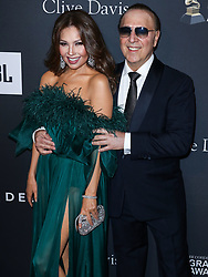 The Recording Academy And Clive Davis' 2019 Pre-GRAMMY Gala held at The Beverly Hilton Hotel on February 9, 2019 in Beverly Hills, Los Angeles, California, United States. 09 Feb 2019 Pictured: Thalia, Tommy Mottola. Photo credit: Xavier Collin/Image Press Agency / MEGA TheMegaAgency.com +1 888 505 6342