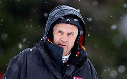 Srecko Medven during the 1st Run of 10th Men's Slalom - Pokal Vitranc 2013 of FIS Alpine Ski World Cup 2012/2013, on March 10, 2013 in Vitranc, Kranjska Gora, Slovenia. (Photo By Vid Ponikvar / Sportida.com)