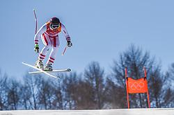 February 15, 2018 - Jeongseon, Gangwon, South Korea - Johan Clarey of France competing in mens downhill at Jeongseon Alpine Centre at Jeongseon , South Korea on February 15, 2018. (Credit Image: © Ulrik Pedersen/NurPhoto via ZUMA Press)