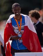 Ottawa, Ontario ---25/05/08--- Giitah Macharia runs during the ING Ottawa Marathon, May 26, 2008..GEOFF ROBINS /