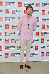 STEVIE JOHNSON at the Frost Family Summer party in support of the British Heart Foundation and the Mile Frost Fund held at Burton Court, Chelsea, London  on 18th July 2016.